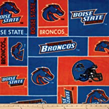 boise state fabric fleece
