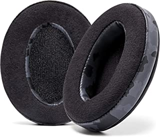 WC Wicked Cushions Velour Replacement Earpads for ATH M50X - Compatible with Audio Technica M40X / M50XBT / HyperX Cloud 1...