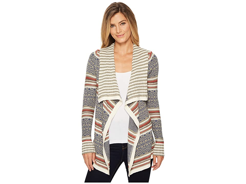 Aventura Clothing Bethel Cardi (Gravel) Women