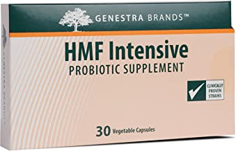 Genestra Brands - HMF Intensive - Four Strains of Probiotics to Promote GI Health - 30 Capsules