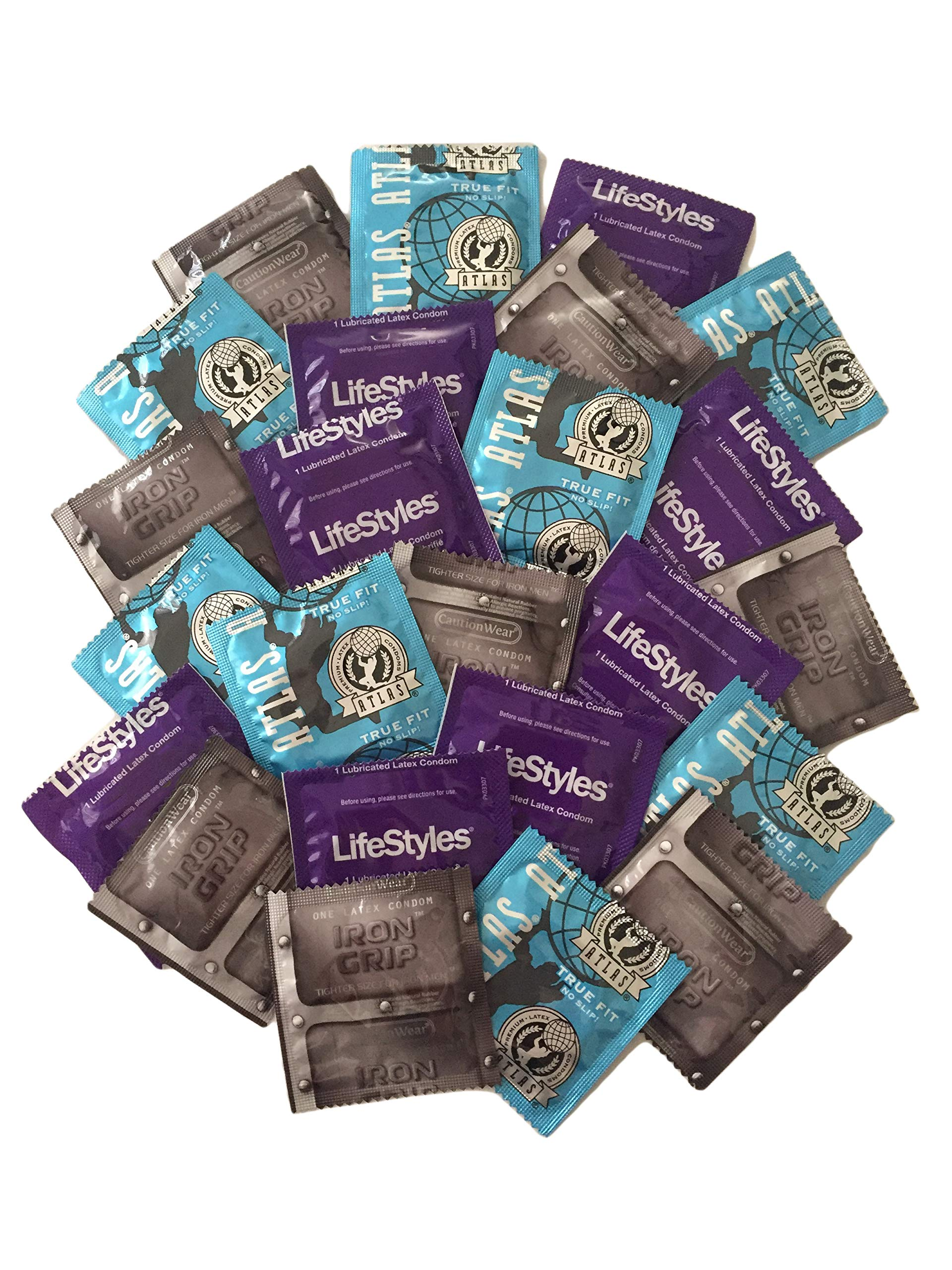 Lifestyles Condoms Variety Pack Lubricant