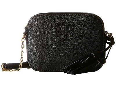 Tory Burch McGraw Camera Bag (Black) Bags