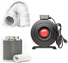 Best exhaust fan carbon filter combo Reviews