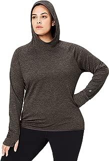 Amazon Brand - Core 10 Women's (XS-3X) Thermal Fitted Run Hoodie