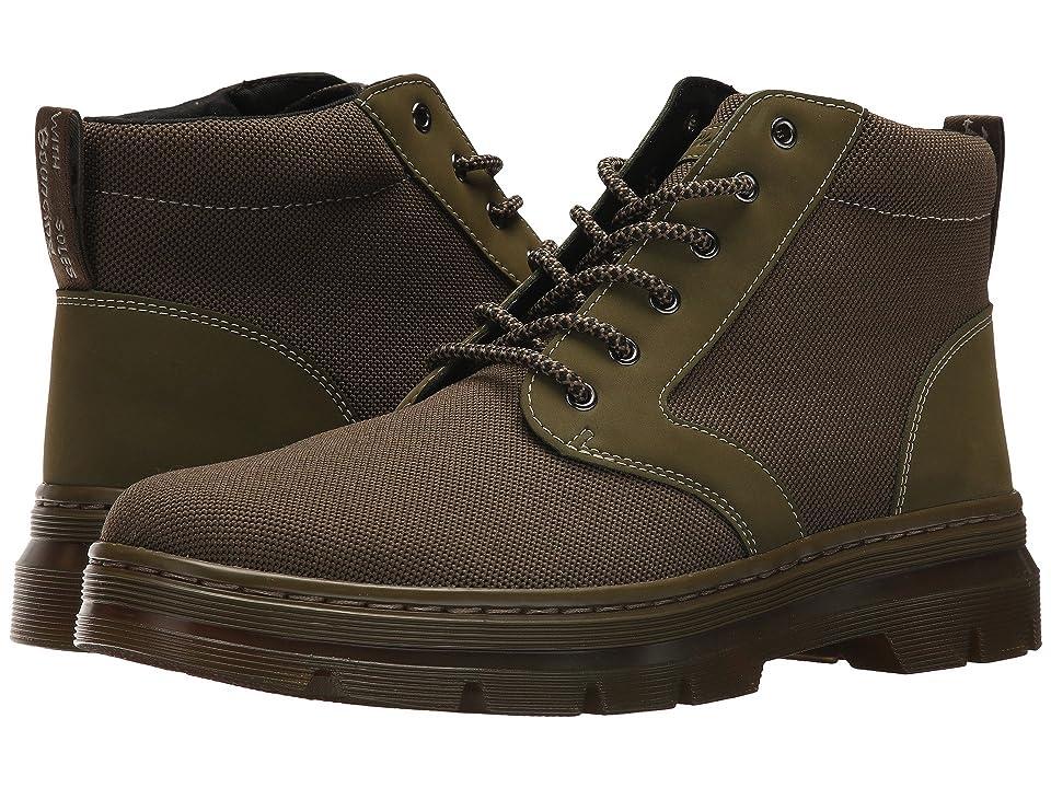 Dr. Martens Bonny II (Mid Olive K Tech Knit Textile/New Olive Cascade) Boots