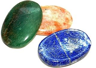 Mixed Set of 3 Worry Stones