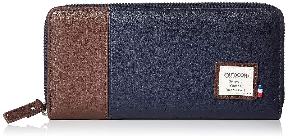 つまずくワームベッド[アウトドアプロダクツ] 財布 メンズ 長財布 ラウンドファスナー セル OT-0521