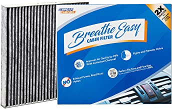Spearhead Premium Breathe Easy Cabin Filter, Up to 25% Longer Life w/Activated Carbon (BE-134)