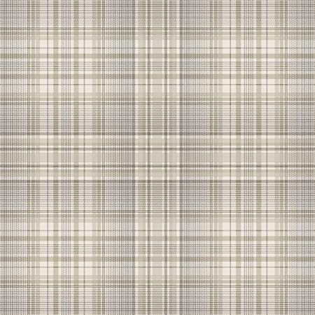 NORWALL CK26627 Linen Wallpaper PLAID BEIGE GREY