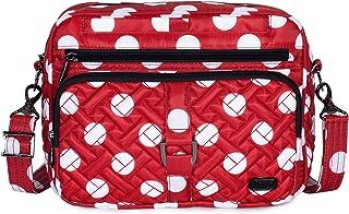 حقيبة كروس نسائية دائرية مقاس XL من Lug