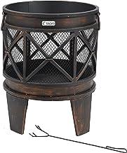 Tepro 1127 Gracewood Fire Basket - Bronze 12-Piece