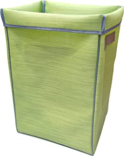 سلة غسيل / تخزين قابلة للطي من Pivoine مقاس 35.56 سم × 30.98 سم × 55.88 سم، أخضر باهت (JAS29110-G001)