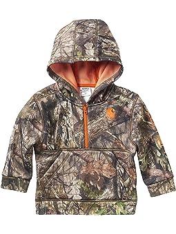 Carhartt Hooded Half Zip Sweatshirt