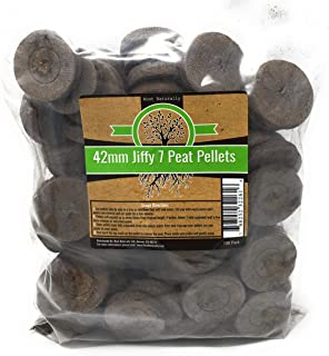 Root Naturally Jiffy-7 42mm Peat Pellets - 100 Count