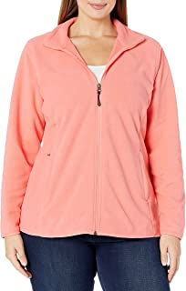 NXLWXN Womens Full-Zip Polar Fleece Jacket
