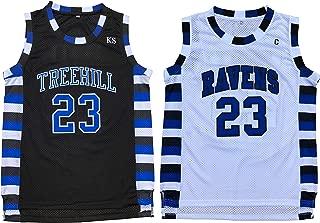 Nathan Scott #23 One Tree Hill Ravens Throwback Basketball Jersey S-XXL
