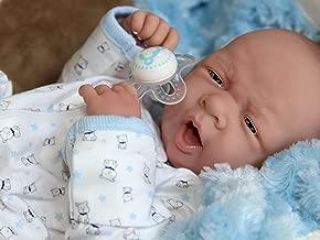 AWW! Baby BOY Doggies! Preemie Life Like Reborn Pacifier Doll + Extras