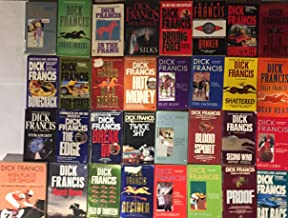 Dick Francis Suspense Novel Collection 34 Book Set