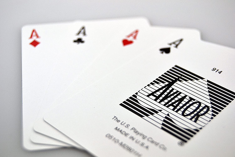 US Playing Card Company Aviator - Pokerkarten Standard Index