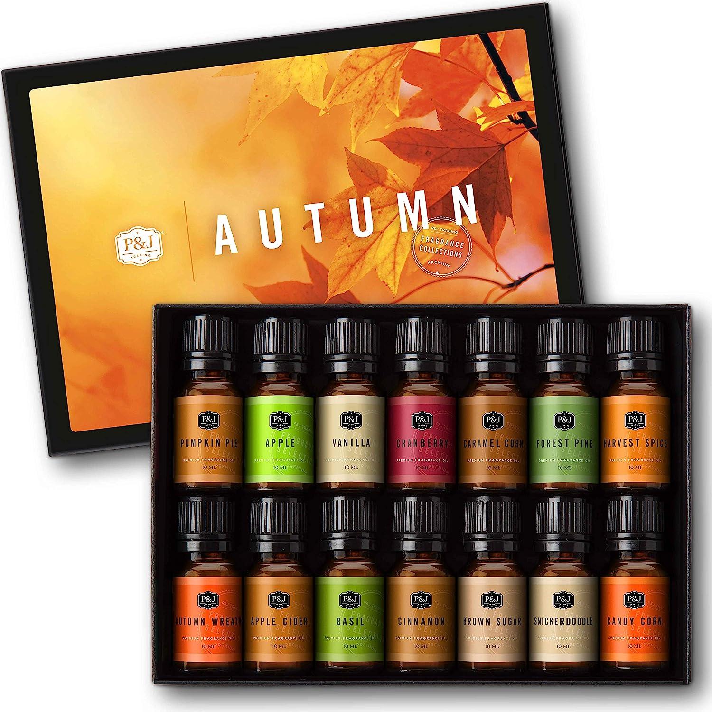 Max 64% OFFicial OFF Autumn Set of 14 Premium 10ml Oils Fragrance Grade -