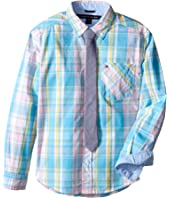 Tommy Hilfiger Kids - Christian Woven Shirt (Big Kids)
