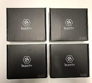 { Package of 4 } Black BUZZTV buzztv XPL3000 2018 Edition Android Nougat 7.1.2 Quad CORE 2GB RAM 8GB Storage