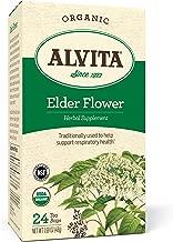 Alvita Organic Elder Flower Tea Bags, 24 Count