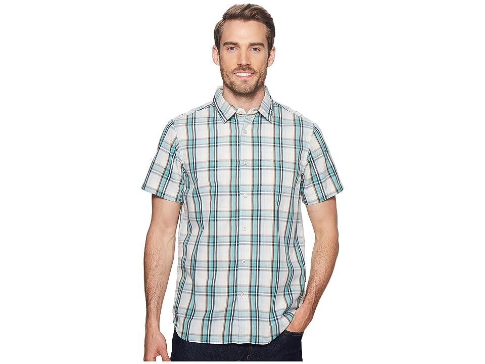 The North Face Short Sleeve Hammetts Shirt (Bristol Blue) Men