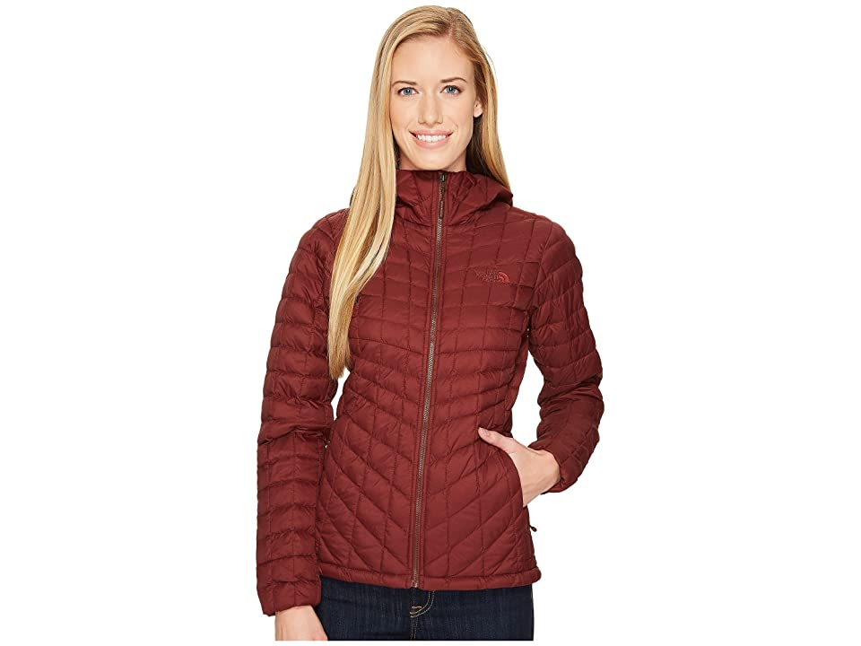 The North Face Thermoball Hoodie (Sequoia Red Matte) Women