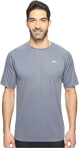 Speedo - Heather Easy Short Sleeve Swim Tee