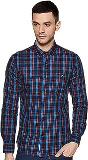Amazon Brand - House & Shields Men's Checkered Regular