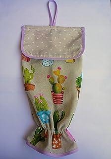 Guardabolsas de tela cactus