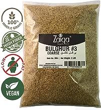 Bulgur Wheat #3   Easy to Prepare, Delicious to Taste, 100% Whole Wheat Goodness   Good for Nutritious Quick Side Dishes, Pilafs & Soups   Also a Rice Alternative - 2 LBS (No. 3 - Coarse Grain)
