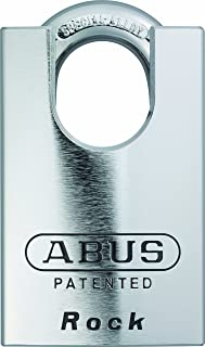 Abus 83CS/55-300 Zero-Bitted S2 Schlage 55Mm Rekeyable Padlock Solid Steel Chrome Plated Body, 1.4375