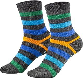 2 pares de calcetines para niño y niña - Rizo y ABS - Varios colores