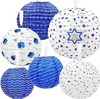Best Hanukkah Hanging Ball Lanterns Ornaments 6 Piece - Hanukkah Decorations! Reviews
