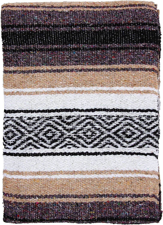 El Paso Designs Mexican Yoga Blanket Classic Serape P OFFer Falsa Colorful