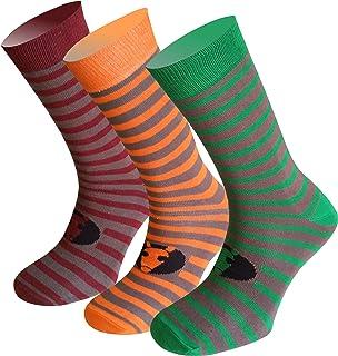 Pack 3 pares de calcetines de vestir de algodon modelo NORD365. Calcetines de vestir de altura media