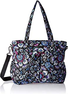 Vera Bradley womens Iconic Ultimate Baby Bag, Signature Cotton, Bramble, One Size
