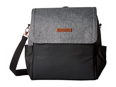petunia pickle bottom Glazed Color Block Boxy Backpack (Graphite/Black) Backpack Bags