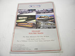 1995 Williams Electric Trains O Gauge Color Catalog