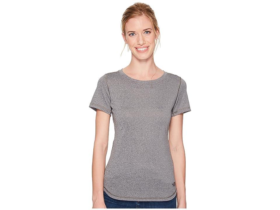 The North Face Short Sleeve Shade Me Shirt (TNF Medium Grey Heather) Women