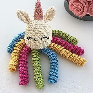 Crochet Octocorn for babies -Unicorn octopus