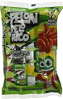 Pelon Pelo Rico Tamarind Chili Candy, (pack of 12)