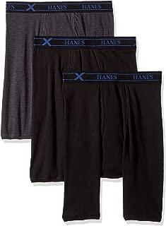 Men's 3-Pack X-Temp Comfort Long Leg Boxer Briefs