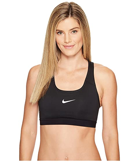 Nike Pro Classic Padded Medium Support Sports Bra at Zappos.com 8b7662502