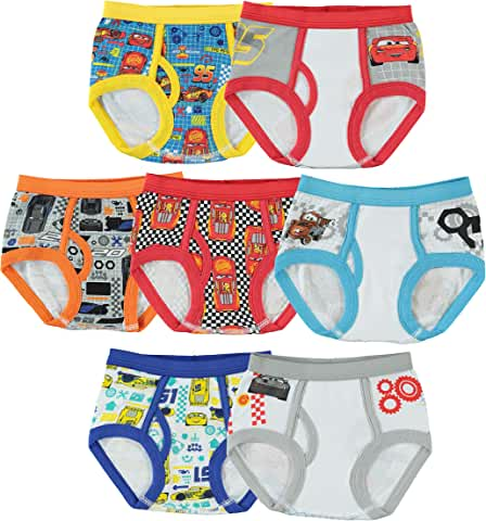 7-Pack Handcraft Cars Underwear for Toddler Boys