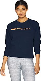 Under Armour Womens Crew Neck Sweatshirt 1317859-P, Womens, Crew Neck Sweatshirt, 1317859