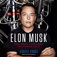 Download Elon Musk: Tesla, SpaceX, and the Quest for a Fantastic Future PDF