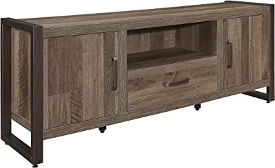 "Lexicon Roux TV Stand, 64"" W, Brown"